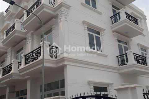 Bán nhà phố 1 trệt, 2 lầu, 2 sân thượng, diện tích sử dụng 240m2 sổ hồng riêng