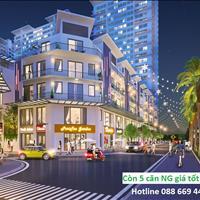 Liền kề, Shophouse Khai Sơn City quận Long Biên, xây thô hoàn thiện mặt ngoài 5 tầng, 1 tum