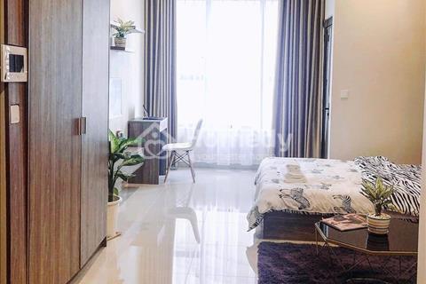 Cho thuê văn phòng Officetel diện tích 46m2, có máy lạnh rèm, view Tây Nam, giá 14 triệu/tháng