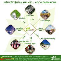 Nhận đặt chỗ 20 lô đẹp nhất dự án Coco Green Home