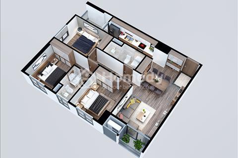 Bán căn hộ tại khu vực Mỹ Đình giá 1,5 tỷ bàn giao nội thất cơ bản