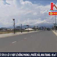 Bán đất STH 31 lô 17 mặt tiền đường số 4 khu đô thị Lê Hồng Phong I, Phước Hải, Nha Trang