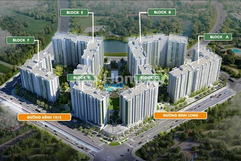 Sang căn hộ block B vị trí ngay cổng chính, view hồ công viên Celadon City