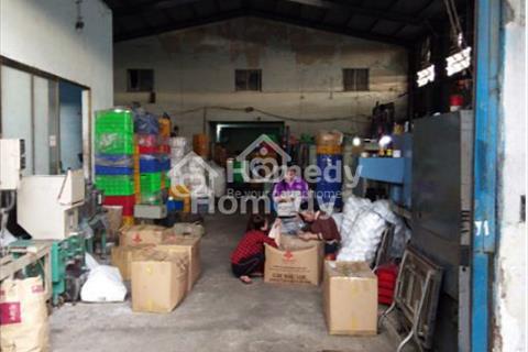 Bán nhà xưởng ấp 7, xã Lê Minh Xuân, huyện Bình Chánh, 1 lầu