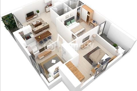 Chung cư nằm tại trung tâm quận Hà Đông, giá chỉ từ 1,4 tỷ, bàn giao full nội thất
