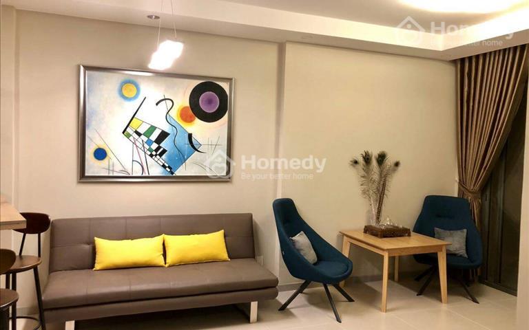 Căn hộ 2 phòng ngủ, full nội thất cao cấp, chung cư Galaxy 9, quận 4, cho thuê 16 triệu/tháng