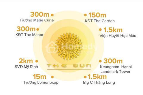 The Sun Mễ Trì - Cơn sốt căn hộ cao cấp chỉ 3,1 tỷ, 3 phòng ngủ