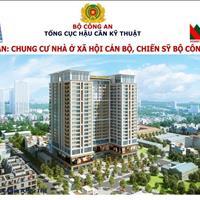 Cần bán 5 suất chung cư nhà ở xã hội Bộ Công An 282 Nguyễn Huy Tưởng