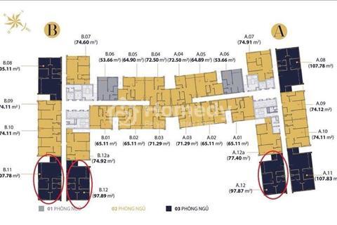 Chủ nhà cần tiền bán gấp căn B05 65m2, giá 4,1 tỷ, thương lượng