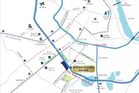 Bán biệt thự, Shophouse, liền kề Athena Fulland mặt đường Nguyễn Xiển, đầu tư cực tốt