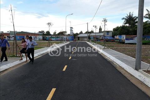 Sở hữu ngay đất mặt tiền Nguyễn Trung Trực ngay chợ Long Cang, thị trấn Bến Lức, giá chỉ 9 triệu/m2