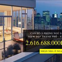 Goldmark City - Bung hàng căn hộ 3 phòng ngủ VIP, view toàn cảnh thành phố tầng 40, từ 23 triệu/m2