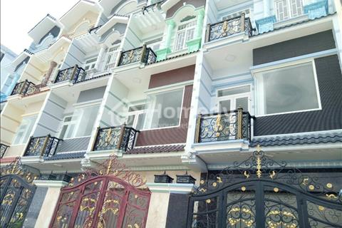 Bán gấp nhà mới xây 3 lầu mặt tiền An Dương Vương, phường 16, quận 8, giá 4,29 tỷ, bao sang tên