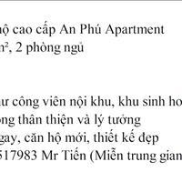 Cần bán căn hộ cao cấp An Phú Apartment, đã hoàn thiện