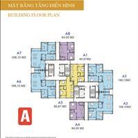 Căn hộ tại khu đô thị mới Udic Westlake, diện tích căn hộ 84m2 - 168m2, giá từ 34 triệu/m2