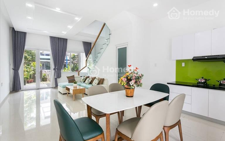 Nhà khu Melosa Garden 5x16m - đầy đủ nội thất - an ninh 24/7, 3 phòng ngủ 3 WC tiện ích cao cấp
