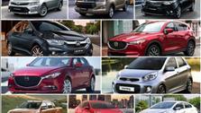 10 mẫu ô tô bán chạy nhất Việt Nam dịp cận Tết 2018