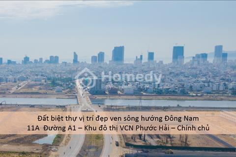 Suất ngoại giao - Bán lô biệt thự ven sông hướng đông nam - Khu biệt thự các Sếp - VCN Phước Hải