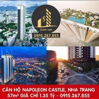 Bán căn hộ Napoleon Castle Nha Trang, đường Nguyễn Đình Chiểu, Nha Trang, 57m² giá chỉ 1,35 tỷ