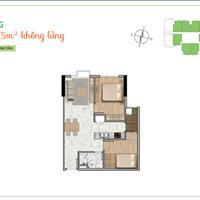 Cần tiền bán gấp căn hộ La Astoria 2, 55m2, 2 phòng ngủ, 1WC, có hỗ trợ vay ngân hàng 70%
