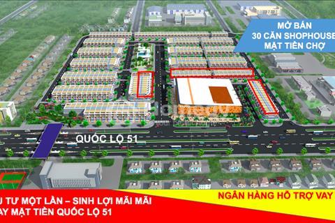 Khu dân cư thương mại Phước Thái - Mặt tiền Quốc lộ 51
