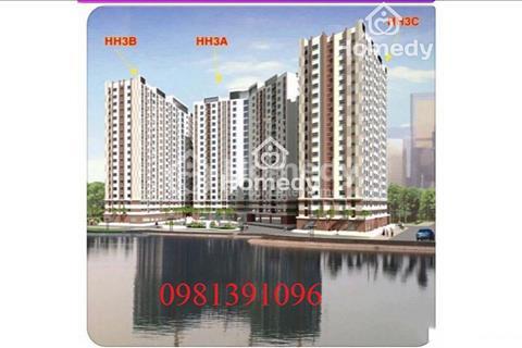 Chuyên cho thuê căn hộ chung cư khu đô thị Thanh Hà, giá 3 triệu/tháng