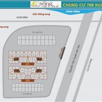Chính chủ bán gấp Chung cư 789 Xuân Đỉnh, căn 1614 64m2, 2 phòng ngủ, 2WC giá 26 triệu/m2