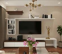 Căn hộ chung cư phong cách hiện đại ở Kim Văn