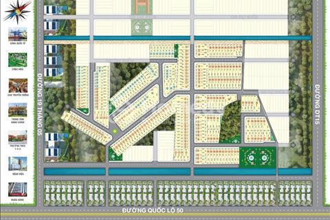 Mở Bán Giá Gốc Khu Đô Thị Mặt Tiền Đường QL50, Tân Lân Riverside Chỉ 550 tr/Nền, Cách Tân Cảng 5km
