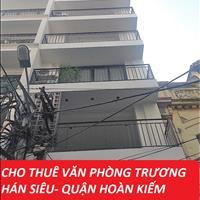 Gấp, cần cho thuê văn phòng tiện ích cao cấp tại mặt phố Trương Hán Siêu - Quận Hoàn Kiếm 40-55m2