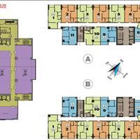 Chú Long bán gấp căn góc 01 tầng 16 tòa B chung cư 219 Trung Kính, 69,7m2 với giá 35 triệu/m2