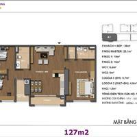 Bán căn hộ chung cư Hong Kong Tower, đường Đê La Thành, căn 1501, 127m2, 3 phòng ngủ