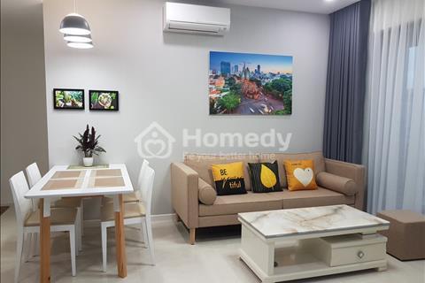Cho thuê căn hộ Millennium 2 PN, 2 wc, nhà deco mới 100% như hình để xem nhà trực tiếp