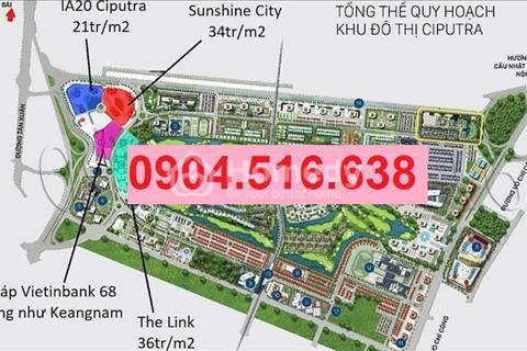 Bán căn hộ chung cư IA20 Ciputra Nam Thăng Long, giá chỉ từ 18.5 triệu/m2