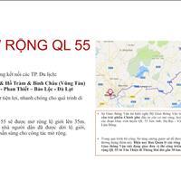 Đất nền sổ hồng riêng gần suối nước nóng Bình Châu, mặt tiền QL 55 giá 390 triệu/nền tiện ích 5 sao