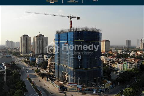 Chung cư D'. El Dora Tây Hồ, căn hộ 2 PN, 2.4 tỷ, vay 65%, LS 0% 18 tháng đầu tư cho thuê 700-2000$