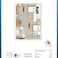 Bán căn hộ chung cư 57,58m2 tòa FLC Star Tower Quang Trung Hà Đông, giá 1,2 tỷ, full nội thất