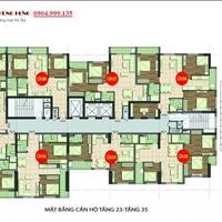 Chính chủ cần bán gấp căn 1602 chung cư 89 Phùng Hưng, diện tích 82m2, 3 phòng ngủ giá 17 triệu/m2