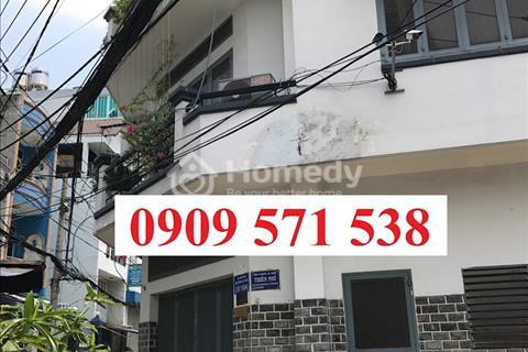 Cần bán nhà mới xây 3 lầu hẻm 4m Phan Văn Trị, Gò Vấp, đối diện siêu thị Emart