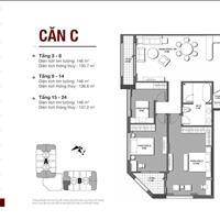 Bán căn góc3 phòng ngủ, ban công đông nam chung cư D'. Le Roi Soleil Quảng A chiết khấu lên đến 5%