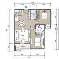 Nhượng gấp căn hộ 2 phòng ngủ 64m2 dự án căn hộ cao cấp The Legend 109 Nguyễn Tuân