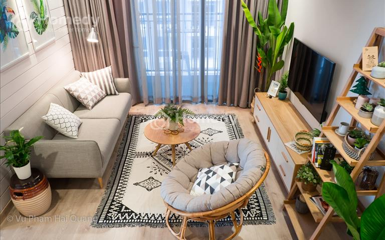 Cho thuê căn hộ Vinhomes Central Park, 2PN, nội thất như hình, giá thương lượng, Liên Hệ xem tt