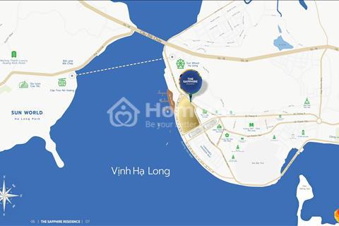 The Sapphire Residence Hạ Long nhận nhà ở ngay view vịnh tặng SH, chiết khấu 3.5%