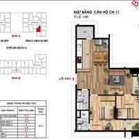 Bán chung cư Imperia Garden tòa B, 74m2, 2 phòng ngủ, đủ đồ - ban công Đông Nam