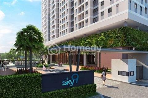 Cần bán căn hộ Sky 9 lầu 5 vị trí vàng view biệt thự