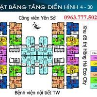 Chính chủ cần bán căn hộ chung cư Tứ Hiệp Plaza, tầng 1208, diện tích 64m2, giá bán 19 triệu/m2