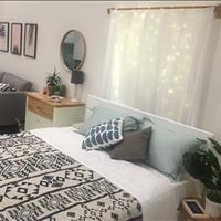 Cho thuê căn hộ chung cư giá rẻ, full nội thất, bảo vệ 24/24, hẻm ô tô, gần chợ, Coop Mart siêu thị