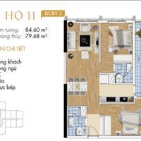 Bán căn hộ Goldmark City 136 Hồ Tùng Mậu giá 2,2 tỷ có thỏa thuận