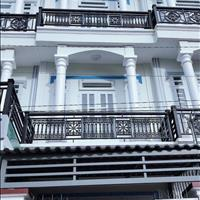 Bán dãy phố 3 tầng cực đẹp 4,5x22m, 1 phòng khách, 5PN, 3wc, cách cầu Bình Điền 4km, giá 1,4 tỷ