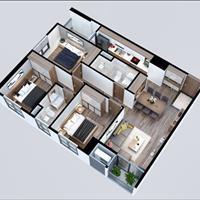 Chính chủ cần bán căn hộ 3 phòng ngủ Mỹ Đình giá 1,52 tỷ bao sang tên - Full nội thất